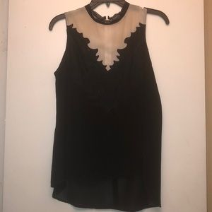Astr chiffon high low blouse